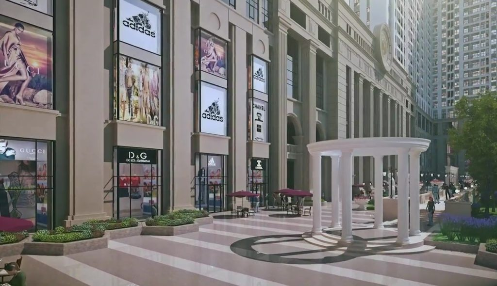 Hệ thống trung tâm thương mại roman plaza hải phát