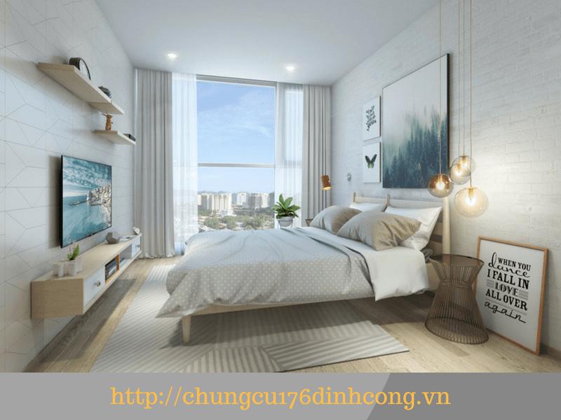 Nội thất căn hộ 176 Định Công Sky Central