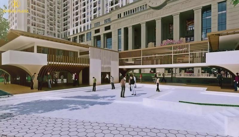 khu trung tâm dự án Roman Plaza