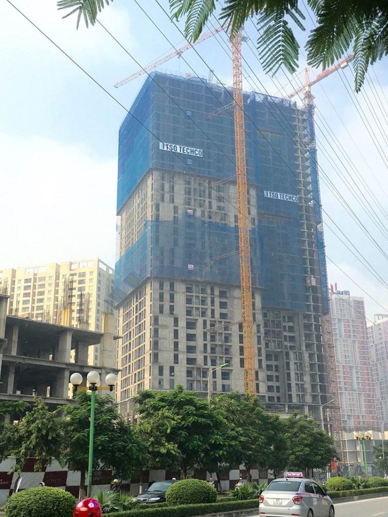 tiến độ thực tế dự án hpc landmark 105