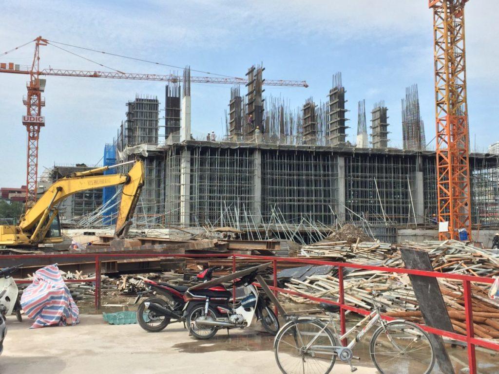 tòa hh2 thực tế dự án eco lake view