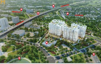 Phối cảnh dự án chung cư Hanoi Homeland Long Bien