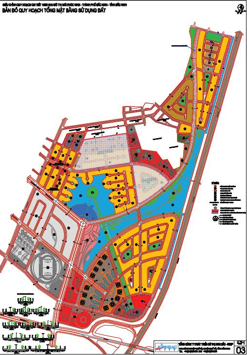 Quy hoạch tổng thể khu đô thị Phúc Ninh thành phố Bắc Ninh