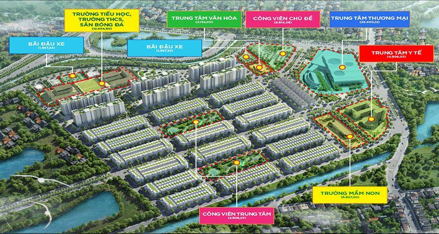 Tổng quan và phân khu Him Lam Green Park Đại Phúc